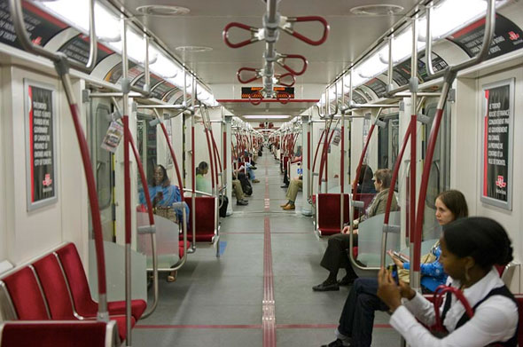 toronto subway rocket