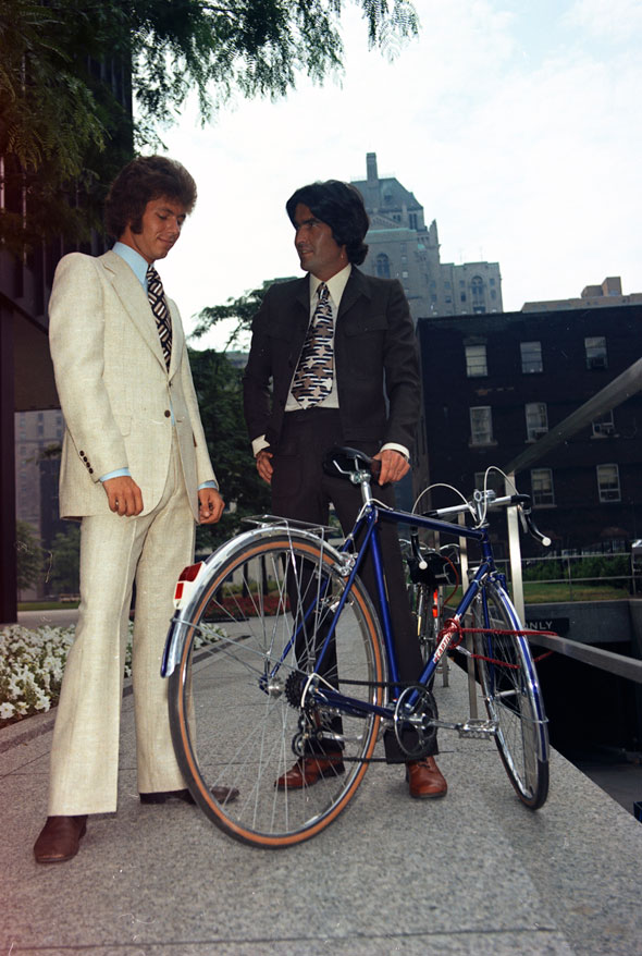 toronto 1970s cyclists