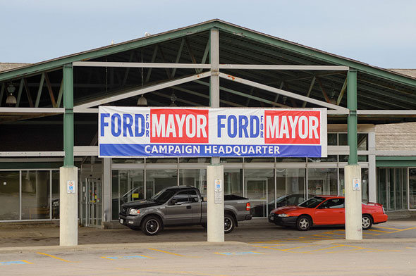toronto ford election