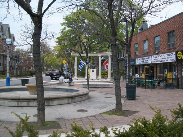 toronto danforth parkette