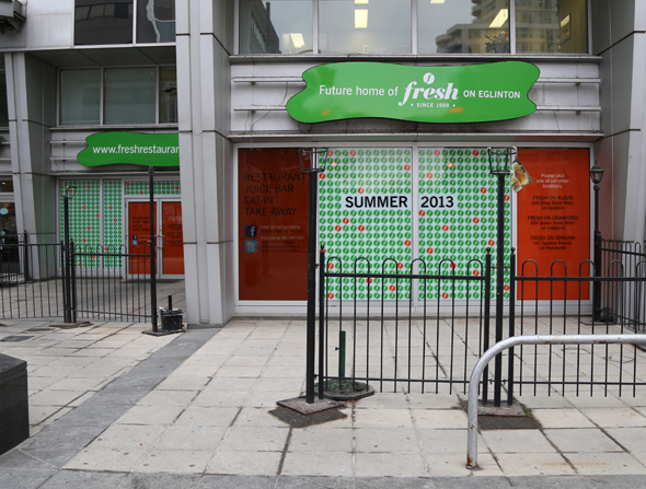 Fresh Restaurant Yonge Eglinton