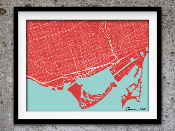 Toronto Colour Map
