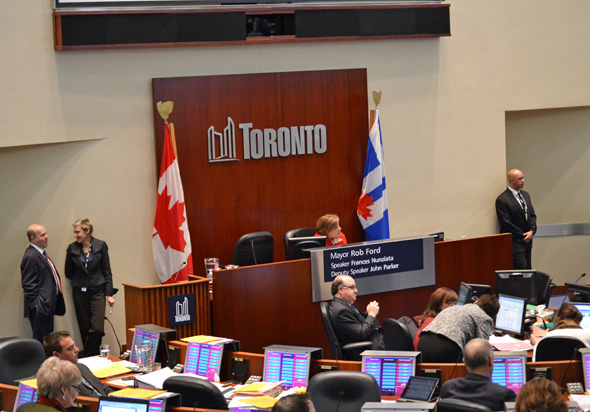 Toronto City Council 2012