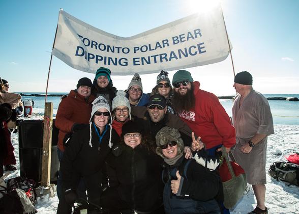 toronto polar bear dip 2013