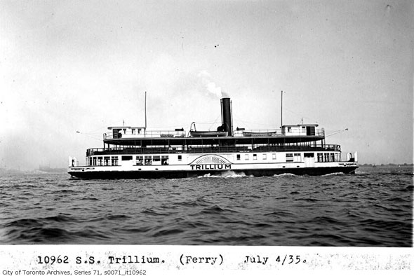 toronto trillium ferry
