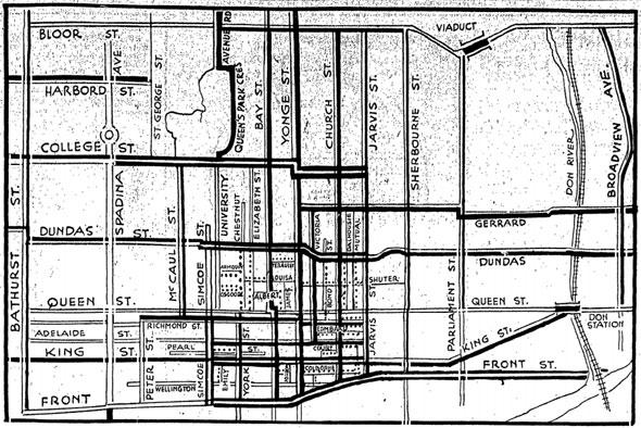 toronto parking map