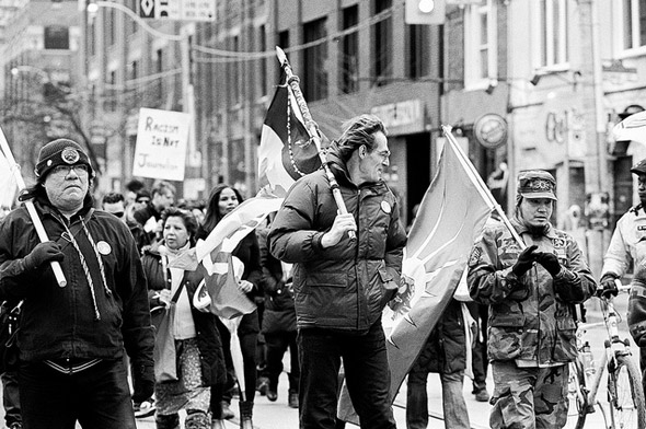 Native Protest Toronto Sun