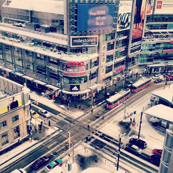 Winter Toronto