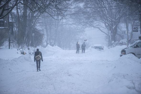 toronto snow street