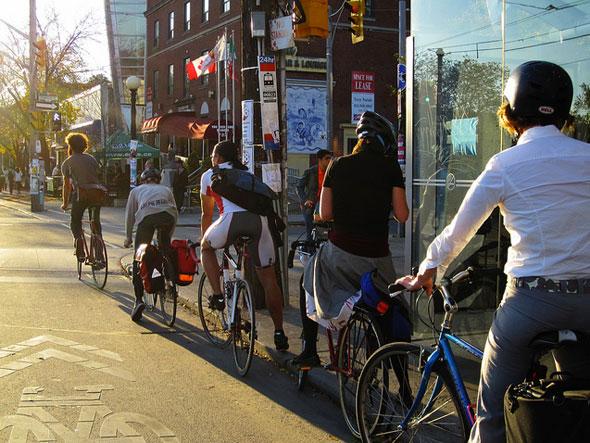 toronto cyclists