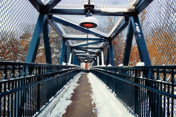 toronto foot bridge