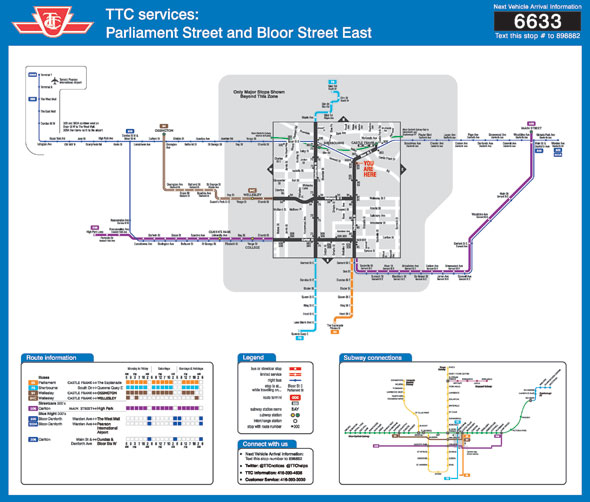new ttc map