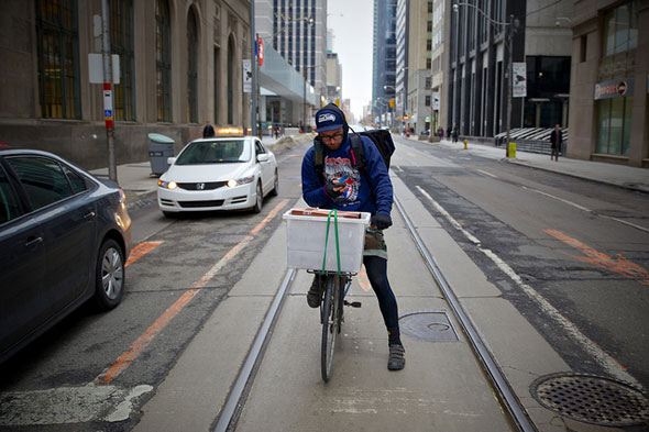 toronto cyclist