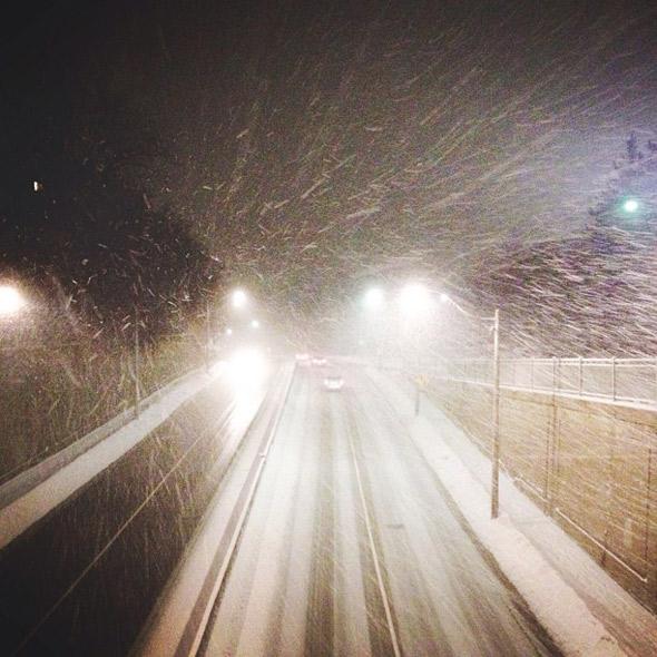 snow slush Toronto