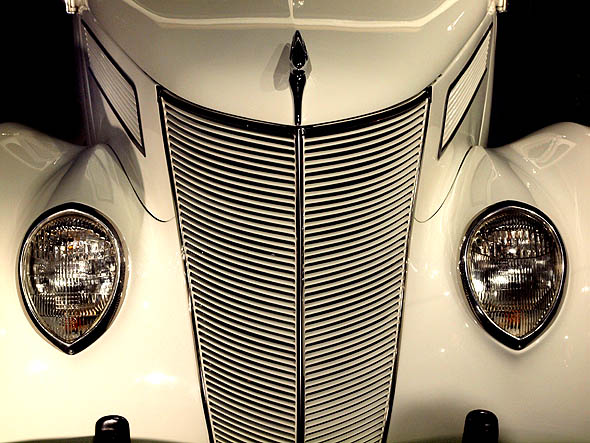 Coupe grille at Hot Rod Showcase