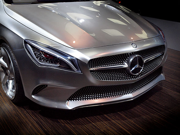 Mercedes Benz concept coupe