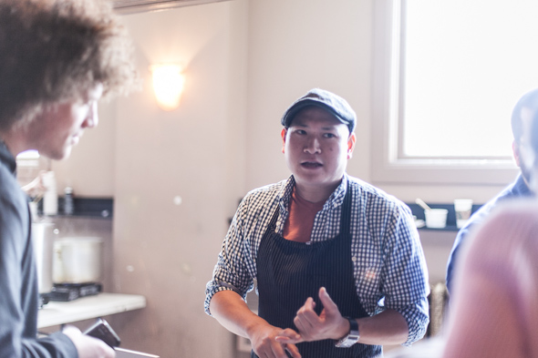 Chef Nick Liu