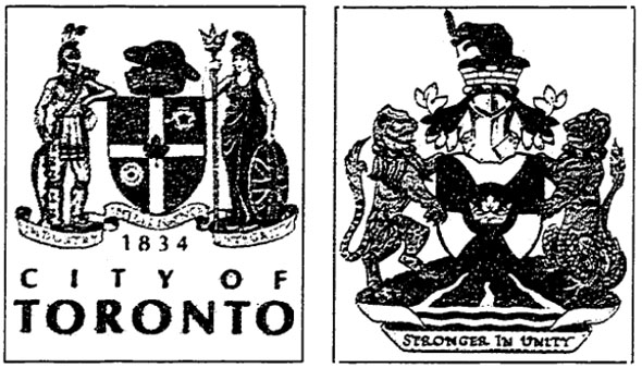 toronto coat of arms