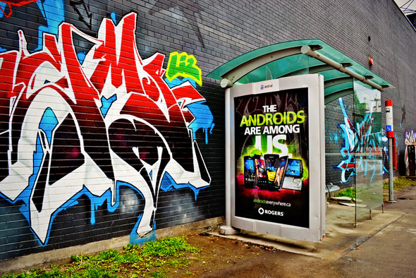 toronto astral bus shelter