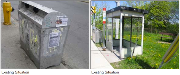 toronto astral street furniture