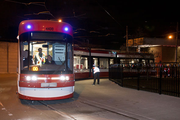Ttc Conducts First Public Test Of New Streetcar