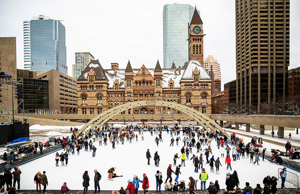 Nathan Phillips Square Rink