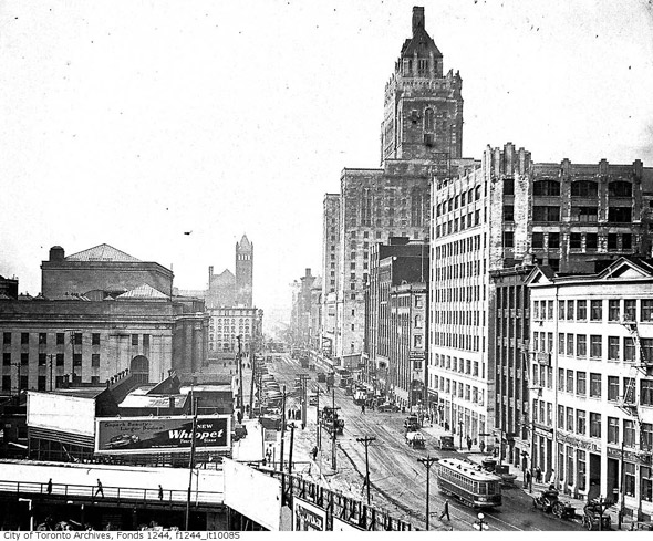Front Street Toronto History