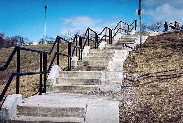 toronto stairs