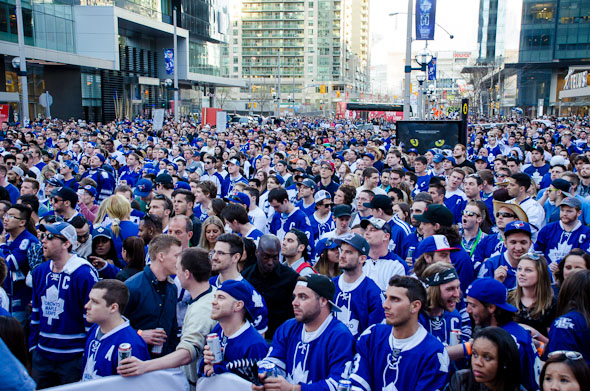 Toronto Maple Leafs Fans Playoffs