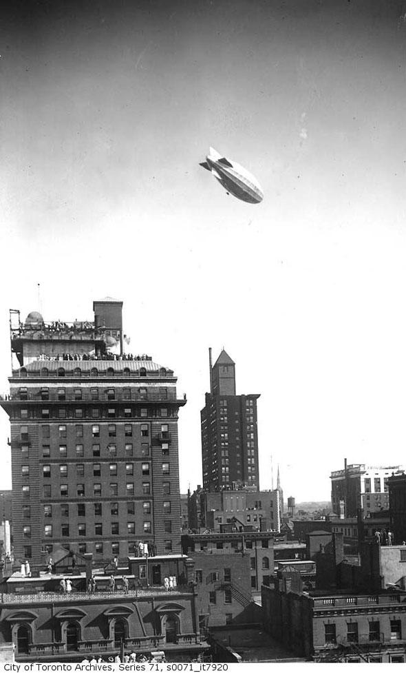 toronto r100 airship