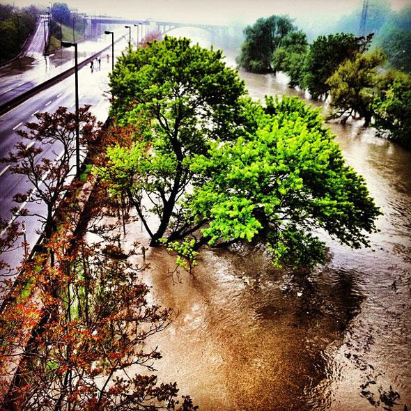 toronto don valley flood
