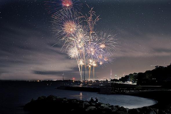Victoria Day Fireworks Toronto 2013