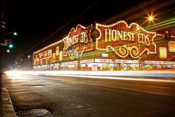 Honest Ed's