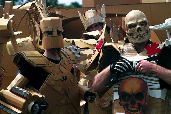 Skull World Cardboard Combat