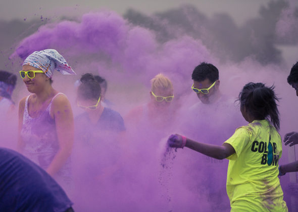 Colour me Rad running