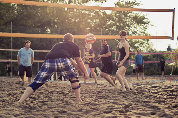 beach volleyball Toronto