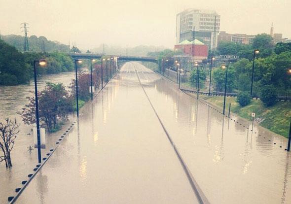 toronto flood dvp