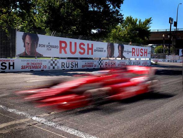 The Rush corner