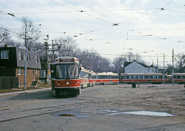 toronto clrv train