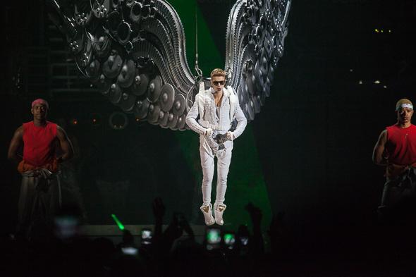 Bieber in toronto