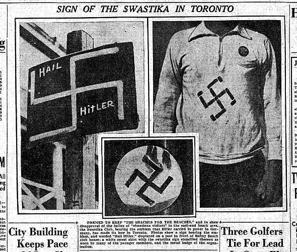 toronto swastika