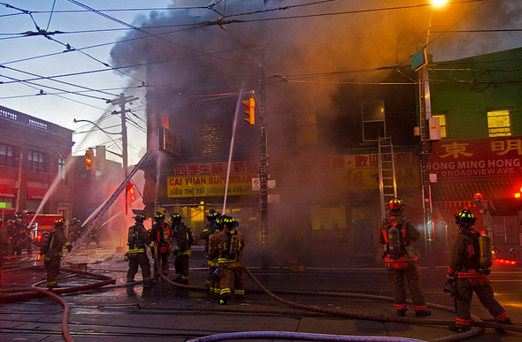 Toronto Fire Broadview Gerrard