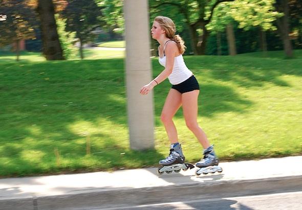 Rollerblading In Toronto
