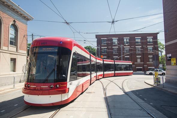 new toronto streetcar