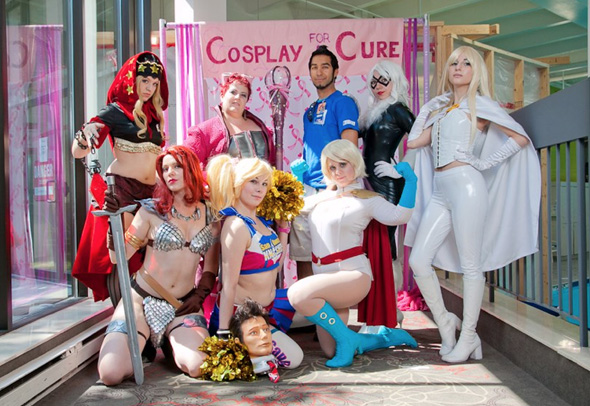 cosplay for a cure