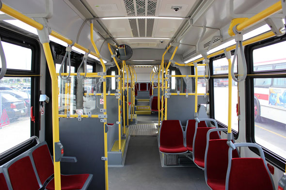 toronto articulated bus