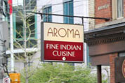 The best indian buffet in toronto for Aroma fine indian cuisine