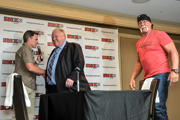 Hulk Hogan Rob Ford