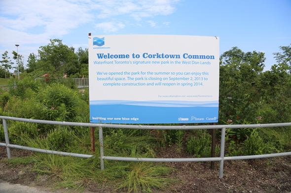 Corktown Common Waterfront Toronto