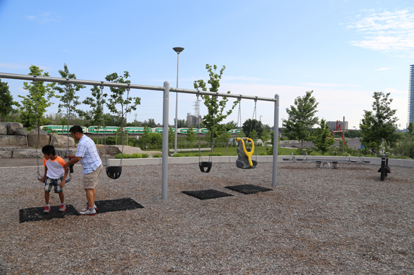Corktown Commons Playground